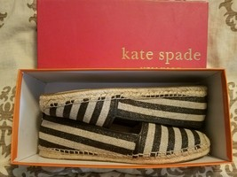 Kate Spade Illiad Size 10.5 Nautical Stripe Espadrille - $94.05