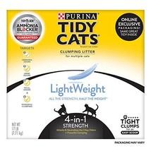 Purina Tidy Cats Light Weight, Dust Free, Clumping Cat Litter; LightWeig... - $21.88
