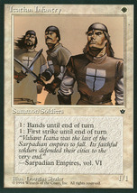 Magic: The Gathering: Fallen Empires - Icathian Infantry (B) - $0.25