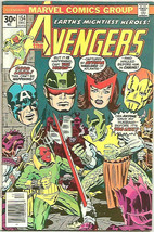 Avengers #154 MARVEL COMICS Kirby Cover 1st print and series PEREZ - $24.75