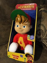 Alvin The Chipmunks ORIGINAL Talking Alvin Plush Doll Toy Fun Kid Play N... - $24.75