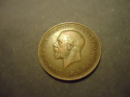 1932 English Large Penny >>Combined Shipping - $1.98