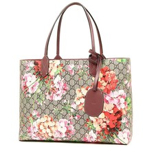 GUCCI GG Blooms Tote Bag Reversible Floral 368571 CU710 8693 Woman Auth ... - $1,840.00