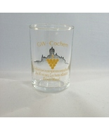 GW - Cochem Shot Glass - Rare Item, Great Collectible! - $7.89