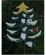 Yard Stake, Metal, Christmas Pine Tree - $25.00