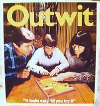 Vintage Outwit Board Game - £7.32 GBP