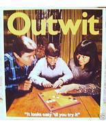 Vintage Outwit Board Game - $10.00