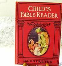 Vintage 1951 Child's Bible Reader by Charlotte Yonge -color plates+ free... - $16.00