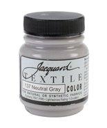 Jacquard Textile Color Fabric Paint 2.25 Ounces-Neutral Gray - $3.95
