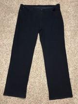 James Jeans Plus Size 28 Inseam 35 Hunter Curvy Solstice Dark Wash Denim... - $42.55