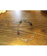 Vintage Goldtone Scarab Bracelet needs new clasp - $15.00