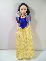 "Disney Shimmer Princess Snow White 11"" Doll 2007 Mattel Snow White Seven Dwarfs - $15.63"