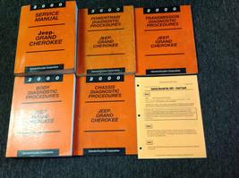 2000 Jeep Grand Cherokee Service Repair Manual Set W Diagnostics + Recal... - $168.25