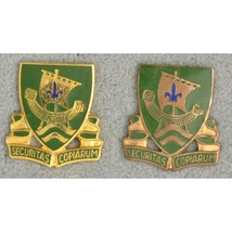 709th Military Police Battalion MP DUI Unit Insignia Crest Enamel Pinback Pins - $19.80