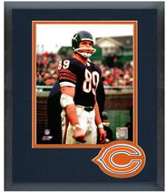 """Mike Ditka Chicago Bears Circa 1963 - 11"""" x 14"""" Matted/Framed Photo - $836,92 MXN"""