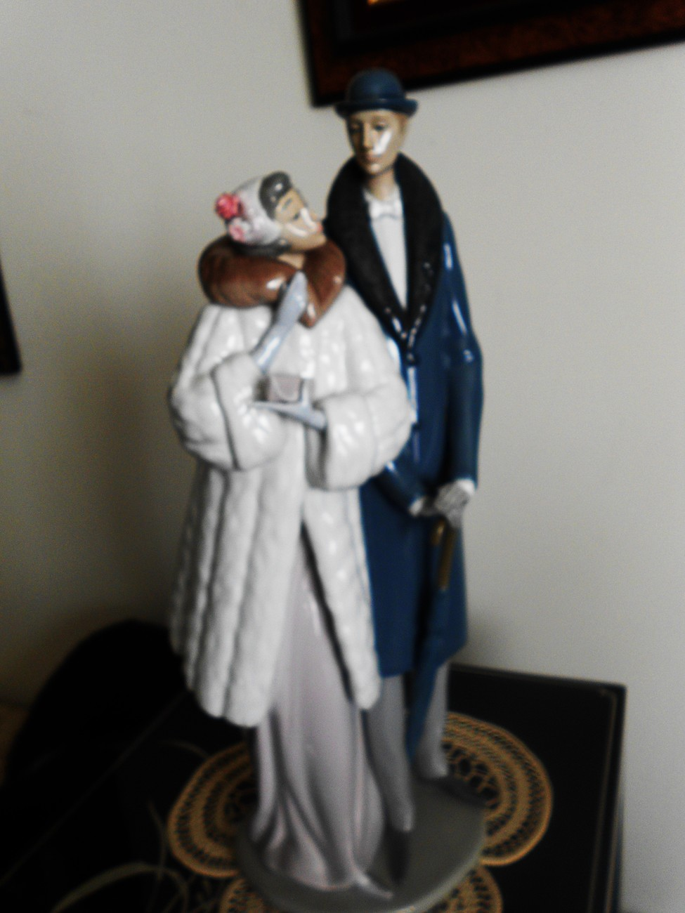 Primary image for Lladro ~ On the Town $ 1452 ~ Retired ~ Mint ~ Collector edition