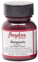Angelus Acrylic Leather Paint-1oz.-Burgundy - $2.02