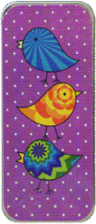 Primary image for Purple Flirty Birds Needle Slide cross stitch accessory Just Nan