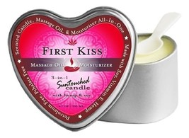 Earthly Body Suntouched 3-in-1 Soy Massage Candle First Kiss 4.7oz - $12.25