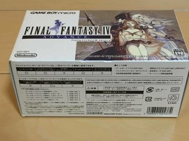 Final Fantasy IV Advance + Yoshitaka Amano design Game Boy Micro - $476.64