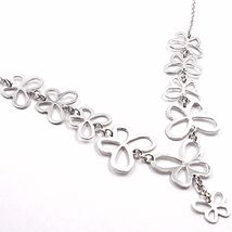 Silver 925 Necklace, Row of Butterflies, by Mary Jane Ielpo , Made in Italy image 3