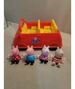 Peppa Pig's Red Car Mummy Pig Sound Effect Phrases Songs Plus Lot Of 4 f... - $23.36