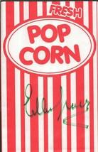 Ellen Travolta Signed Popcorn Bag Grease Happy Days - $29.69