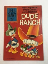 Dell Giant Dude Ranch 52 ( 1961) Dell Comic Donald Duck UNGRADED  - $47.45