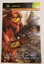 HALO 2 Multiplayer Map Pack - OG Xbox Black Label Video Game CIB Complete - $13.81