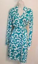 Diane Von Furstenberg New Jeanne Spiral Ferns Green 12 - $215.99