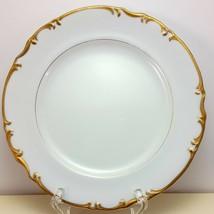 "Mikasa Venice Salad Plate 7-5/8""  White Fine China Gold Trim 9266 - $9.90"