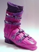 Freestyle Pink/Purple Ski Skiing Boot Downhill Alpine Just the Right Sho... - $19.99
