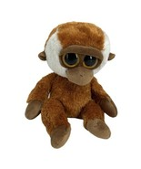 Bongo Orangutan TY Beanie Boo Retired Monkey Big Yellow Eyes Approximate... - $14.80