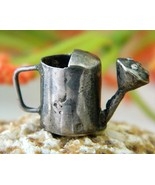 Vintage Sterling Garden Watering Can Bracelet Charm Mexico - $34.95