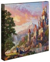 Thomas Kinkade Studios Beauty and the Beast II 14 x 14 Gallery Wrapped C... - $89.00