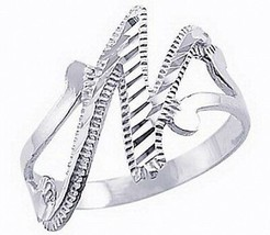 New real Sterling silver 925 letter alphabet Initial Elegant Cute N ring... - $21.05