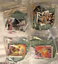 Marvel Super Heros 1995 Hardee's Toys  Complete Set Of 4 Unopened - $19.79