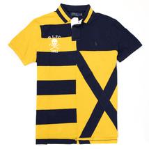 Polo Ralph Lauren Men's Custom Slim Fit Football Club Polo Shirt Large $100 - $69.95