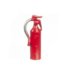 DOLLHOUSE MINIATURES RED FIRE EXTINGUISHER #B1555 - $2.99