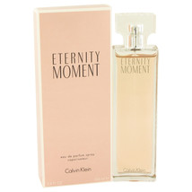 Eternity Moment by Calvin Klein Eau De Parfum Spray 3.4 oz - $32.95