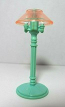 Fisher Price Loving Family Dream Dollhouse Living Room Blue Floor Lamp 1996 - $12.86
