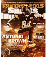 ANTONIO BROWN AUTOGRAPHED Hand SIGNED 16x20 Pittsburgh STEELERS PHOTO w/... - $69.99