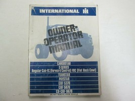 International IH Cargostar S- Serie Transtar Paystar Owner Operator Manu... - $24.78