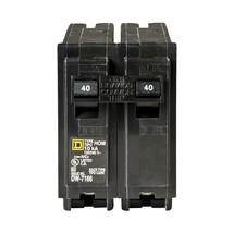 Square D Homeline 40 Amp 2-Pole Circuit - $8.60