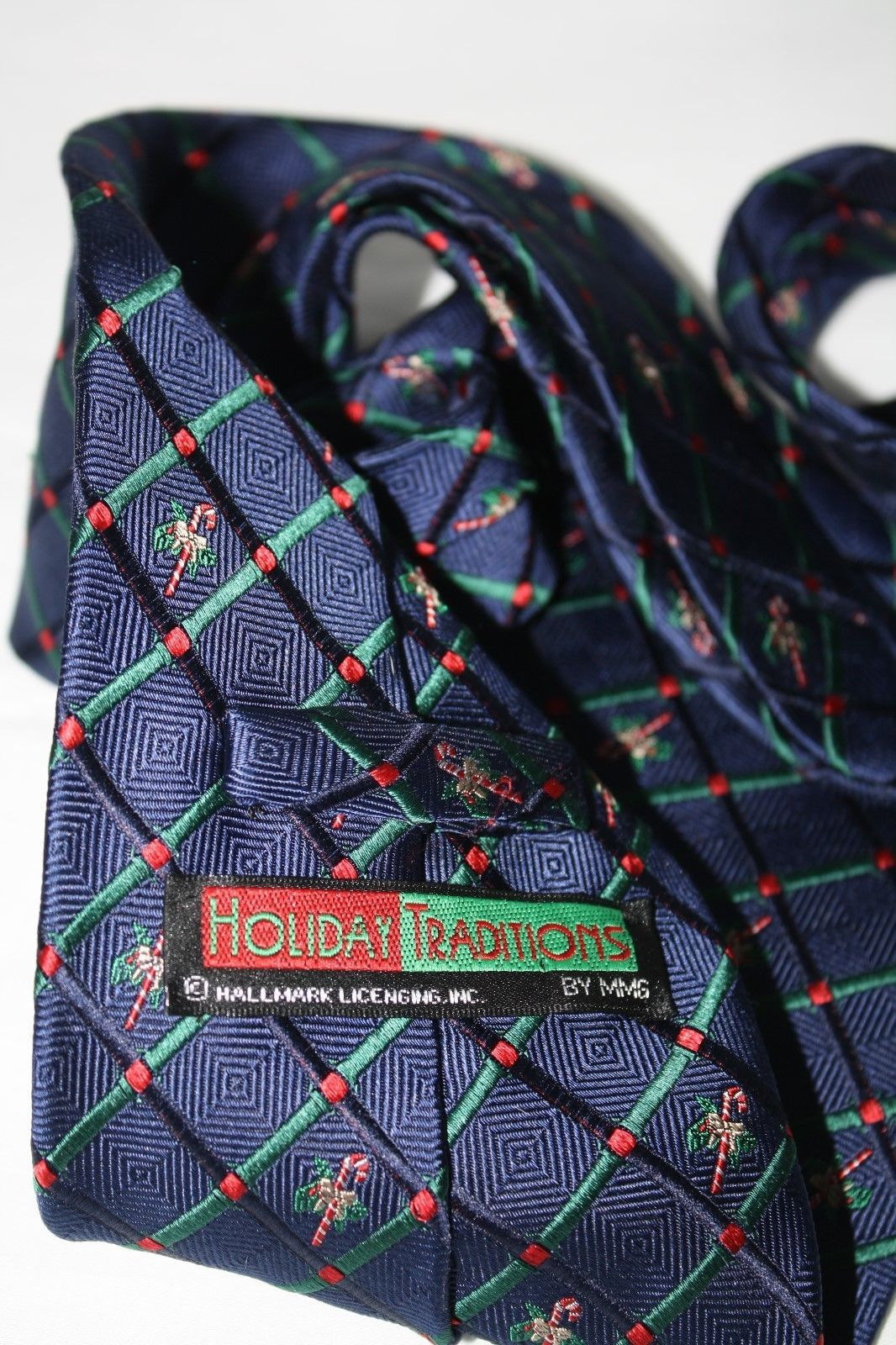 Holiday Traditions Hallmark Candy Canes Tie