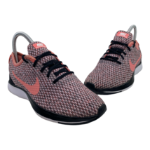 Nike Dualtone Racer Youth 3 Pink Black White Athletic Running Shoes AA3049-002 - $34.61