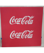 Coca Cola Plastic signs - NEW - Replacement Sign Coke Vending Machine - $150.00