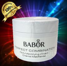 Babor Daily Mattifying 50ml(1.7oz) Cream PRO SALON SIZE  SEALED&FRESH!!! - $36.99