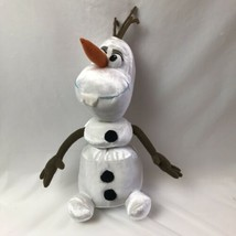 "Olaf Snowman Talking Pull Apart Plush Just Play 13"" Frozen - $9.89"