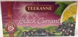 Teekanne BLACKCURRANT Tea  - 20 tea bags- Made in Germany - $5.49